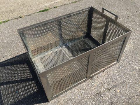 【売切れ】Sold out【中古設備】洗浄機用 ステンレス カゴ(角型)の写真02