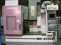 【Sold out】立形マシニングセンター / オークマ / MD45VAE / 2001の写真02