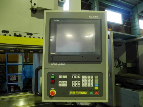【Sold out】スリーポイント油圧式プレスブレーキ / 村田機械 / 3P-110-25 / 2008年式の写真03
