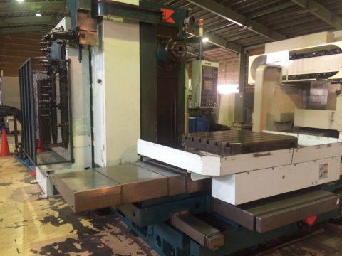【Sold out】テーブル型CNC横中ぐりフライス盤/クラキ/KBM-11X/2001年の写真02