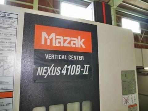 【Sold out】立型マシニングセンター/ヤマザキマザック/VCN-410B-Ⅱ/2008年の写真03