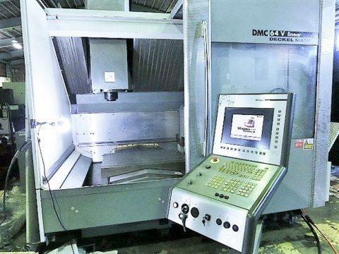 【Sold out】【売切れ】立型マシニングセンター(BT40)/ DMC V64 Linear /日本DMG / 2004年の写真02