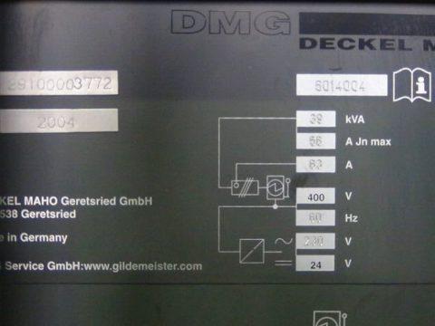 【Sold out】【売切れ】立型マシニングセンター(BT40)/ DMC V64 Linear /日本DMG / 2004年の写真07