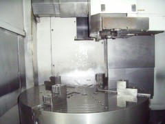 【中古機械】 NC立旋盤/VTM-100/オークマ/2009の写真02