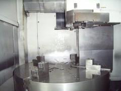NC立旋盤/VTM-100/オークマ/2009の写真02