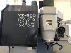 【中古機械】NCフライス盤/山崎技研/YZ-500SG ATC/2006年式の写真05