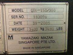 【中古機械】マザック/CNC旋盤/ QTN-150N/2005の写真08
