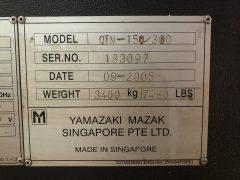 【中古機械】マザック/CNC旋盤/QTN-150N/2005の写真08