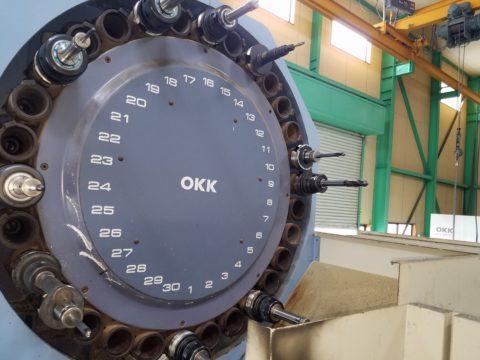 【中古機械案内】立型マシニングセンター/OKK/KCV600-20L/1995の写真06