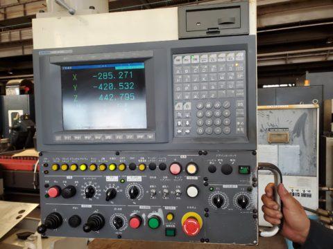 【中古機械案内】立型マシニングセンター/大隈豊和/MILLAC611V/2000の写真04