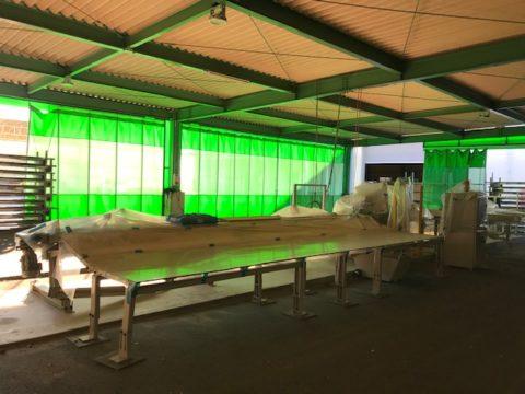 【中古木工機械】宮川工機製プレカットマシン 高速直切切断機MPC-27の写真03