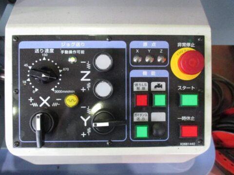 【中古機械案内】NCフライス/静岡鐵工/VHR-AN/2018OH機の写真05