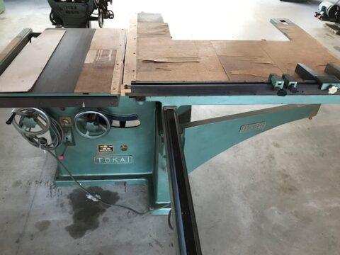 【売却済み Sold Out】【中古木工機械】軸傾斜横切り盤/東海製作/SFJ-1300の写真04