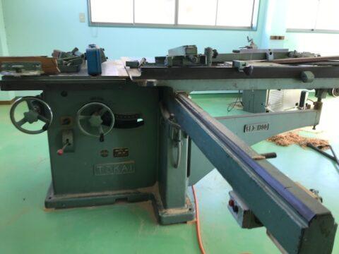 【中古木工機械】軸傾斜横切り盤/東海製作/SFJ-1300の写真02