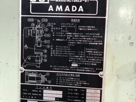 【中古機械案内】アマダ/32tプレス/TORC-PAC32/1969の写真08