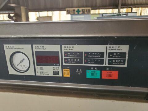 【中古機械案内】スクリューコンプレッサー/日立/SRL-11P6AR1/2004の写真03