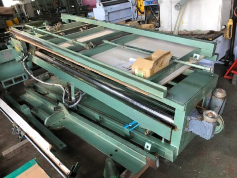 【中古木工機械】8尺パネルソー/田中機械工業/万能パネルソー2500型の写真04